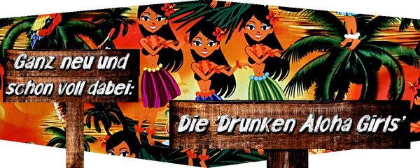 "Hawaiihemd / Hawaii Hemd ""Drunken Aloha Girls"""